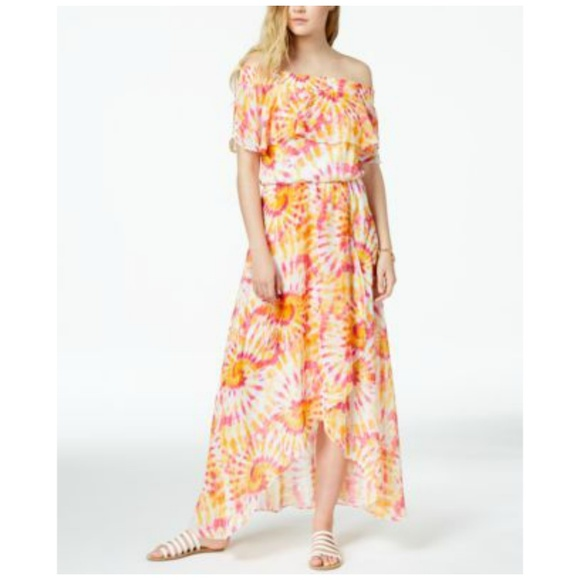 b5711ebad The Edit by Seventeen Dresses | Maxi Dress Tie Dye Print Off | Poshmark